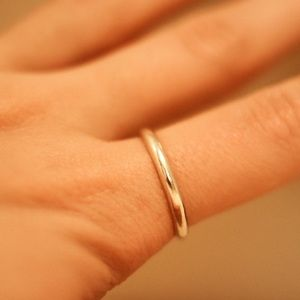 Jewelry - Sterling Silver Thin Band Ring